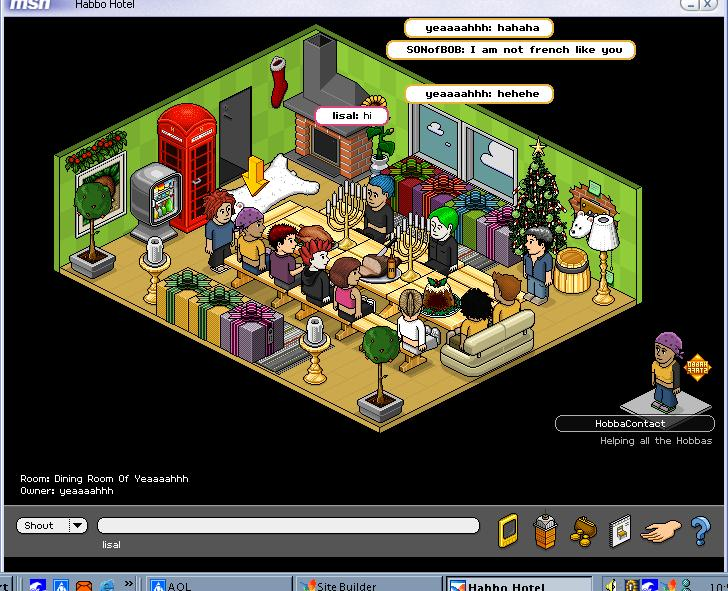 Habbo Ages 2001 2002 Screenshots
